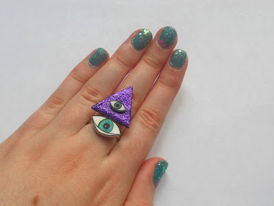 Jewellery by Jaymie Aztec eye ring