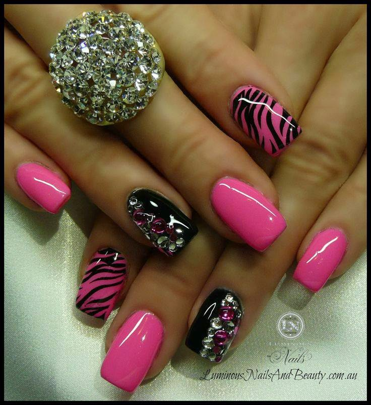 Animal print nail art Designs | Fashion's Feel