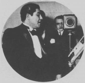 Oscar Alonso en Radio Prieto en 1936