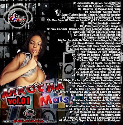 CD Arrocha Mais 2013 Vol.01 - Dj Blackmix