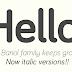 RECURSOS: Descarga la fuente Bariol Regular e Italic GRATIS
