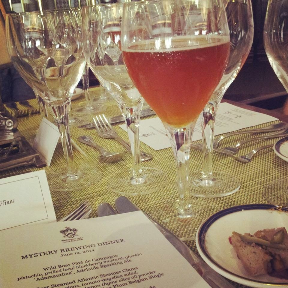 Washington Duke Beer Dinner