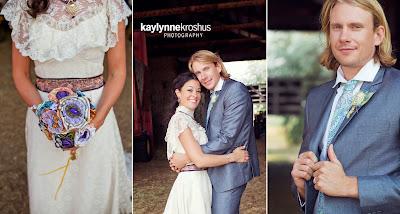 romantic ranch wedding