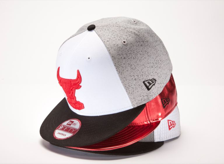 2c2ccb85b88a68 Here is a look at the New Era Fitted Caps For Febuary 2012 including a Chicago  Bulls Splatter snapback that will be a great match for the Cement 4 s and  Red ...