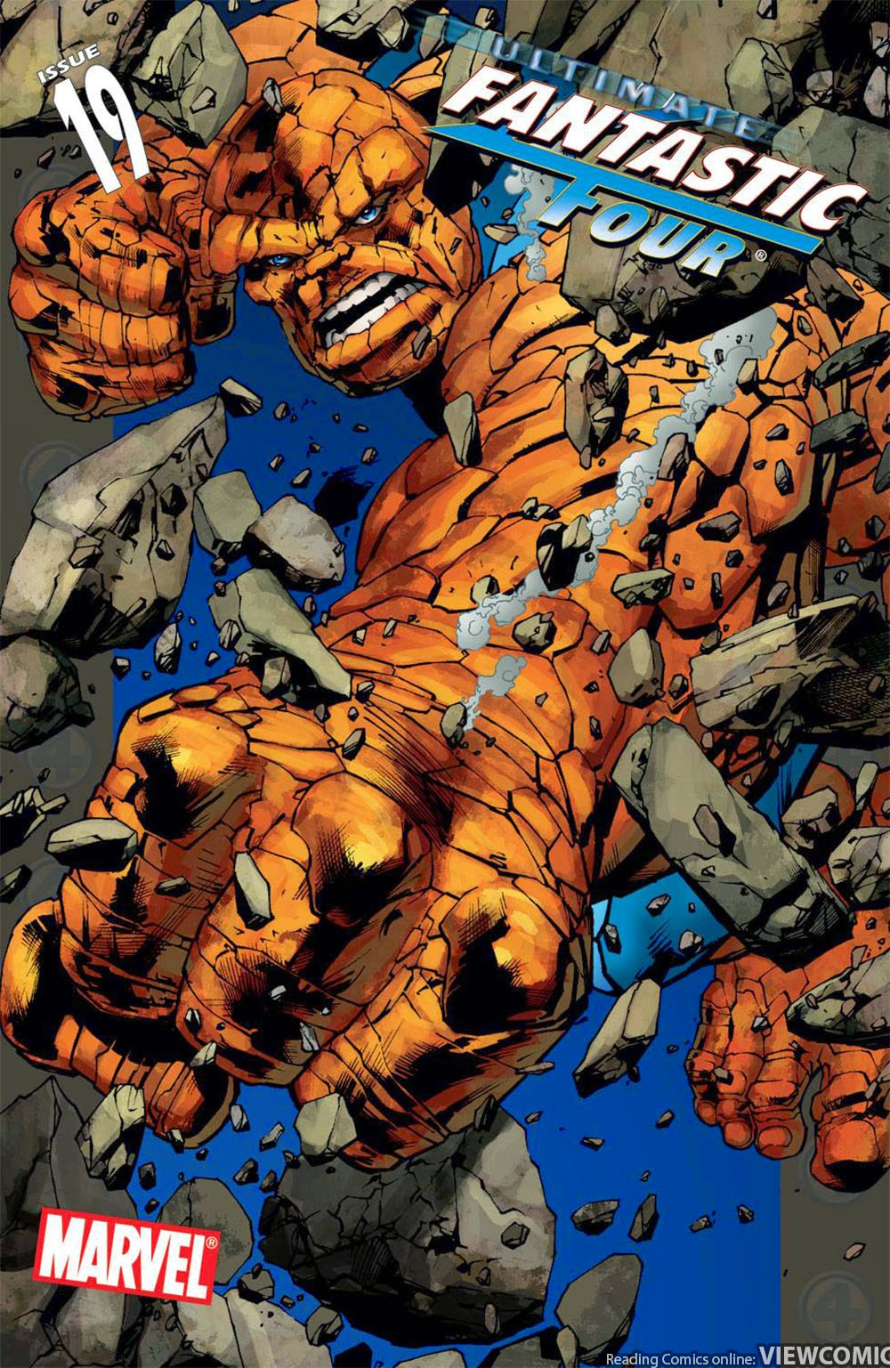 Ultimate fantastic four viewcomic reading comics online for The thing free online