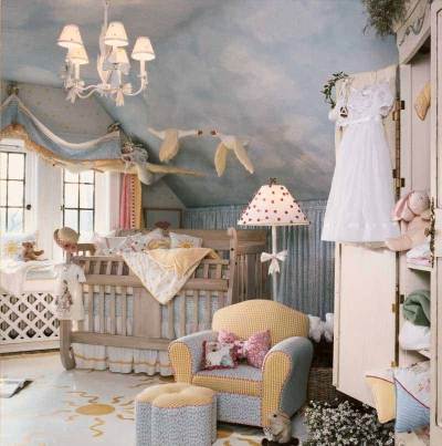 Bedrooms Designs on Modern Baby Nursery Decorating Ideas