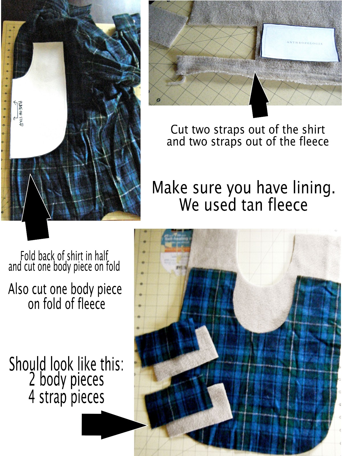 Diy pet coat pattern sewing it together bevykona for Dog coat template