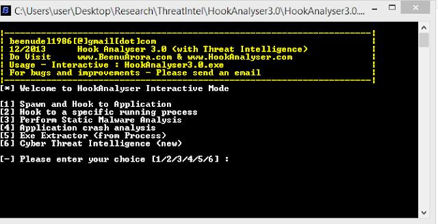 Hook Analyser 3.0