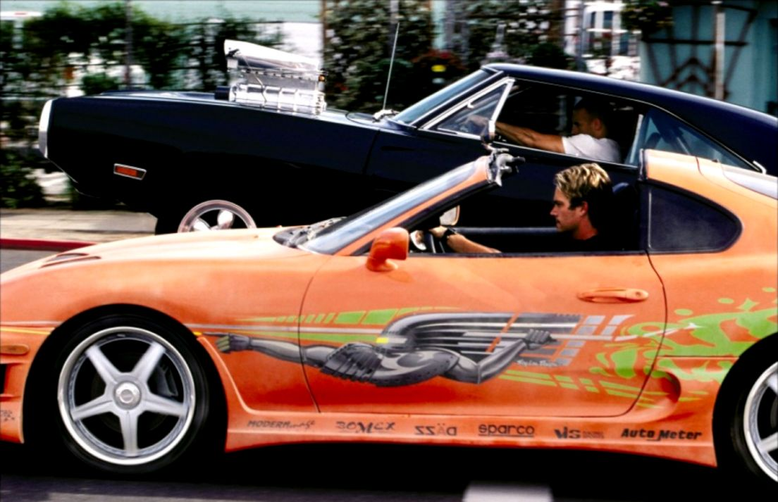 Paul Walker Fast and Furious Cars