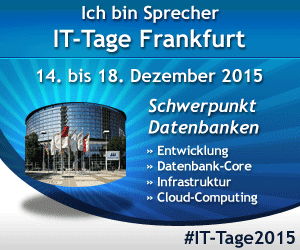 IT Tage Datenbanken 2015