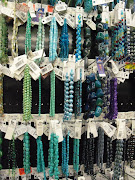 Shades of Blue and Teal Glass Beads