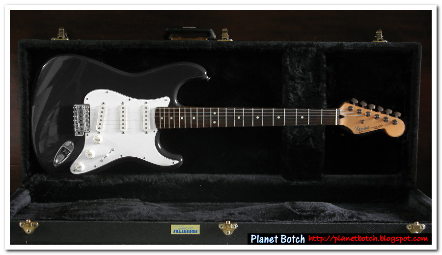 The First Fender    Mexican    Stratocasters   Pla Botch