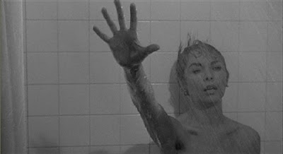 Janet Leigh in the shower in Psycho