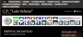 PÁGINA WEB DE NUESTRO COLE