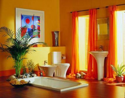 design kamar mandi natural