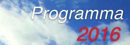 Programma attività 2016