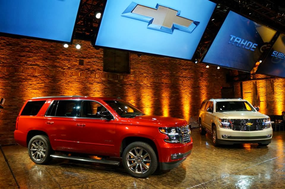 2015 Chevy Full-Size SUVs Get Improved Fuel Efficiency