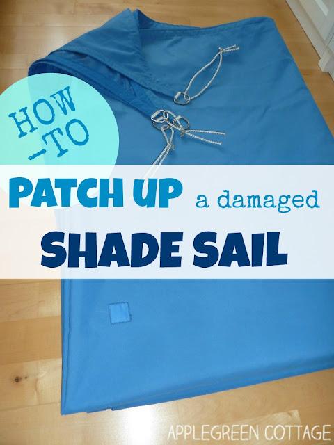 shade sail repair tutorial free