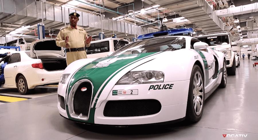 ガレージがスーパーカーだらけ!ドバイ警察の特集動画が公開