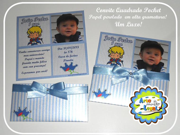 Arte Muito Legal - Convites infantis personalizados