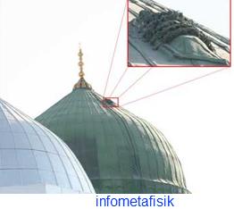 Misteri Mayat yang Menempel di Kubah Masjid Nabawi Madinah