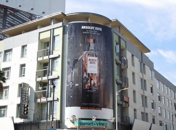 Absolut Elyx Vodka billboard