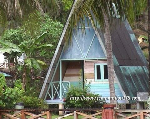 帆船石小屋