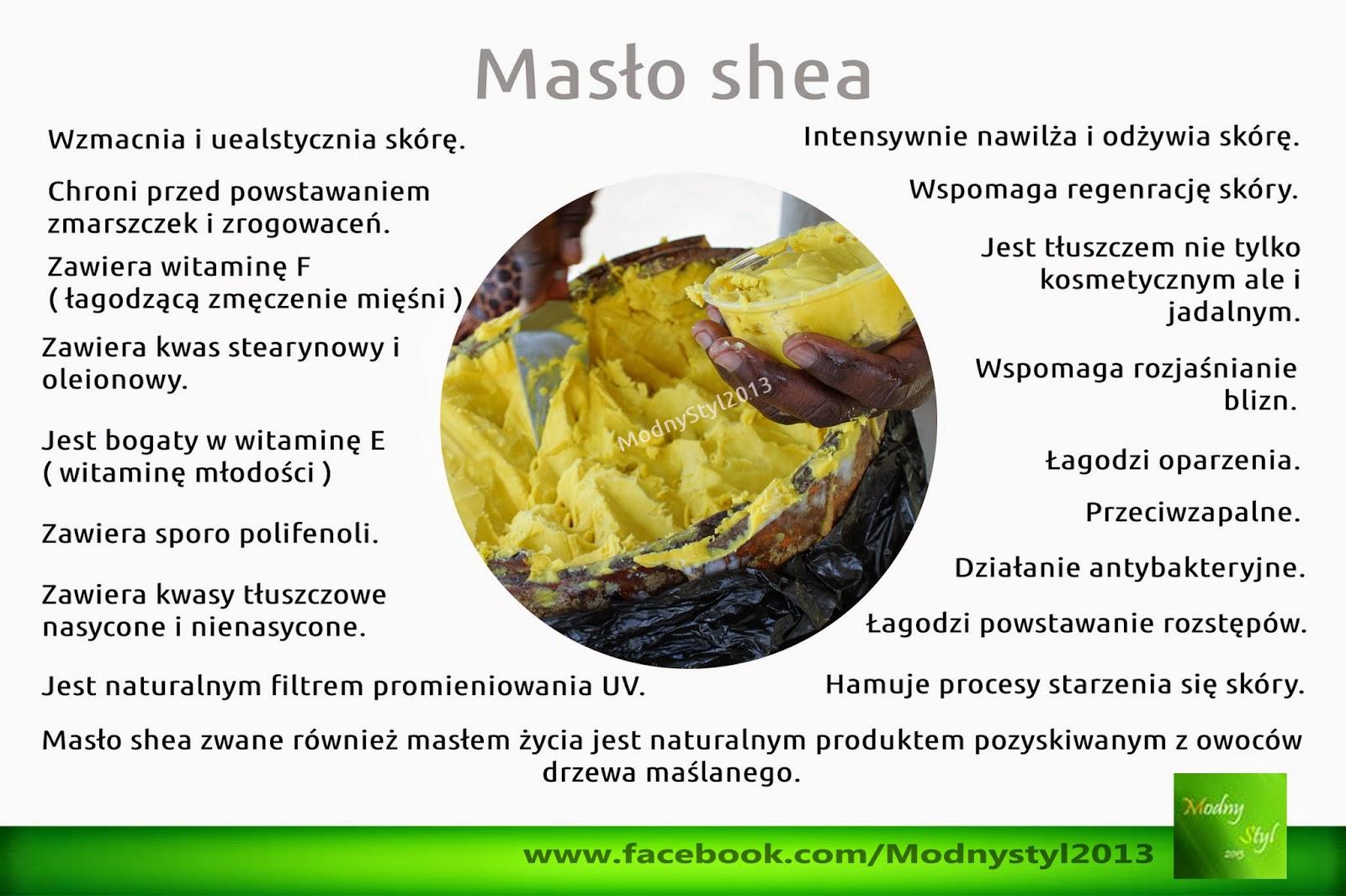 Afrykańskie masło shea