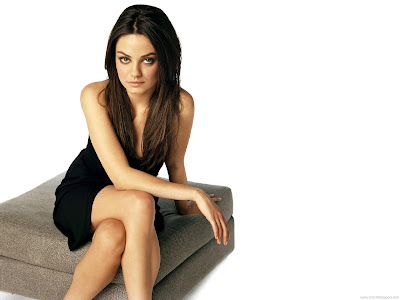 Mila Kunis Swimsuit Wallpaper