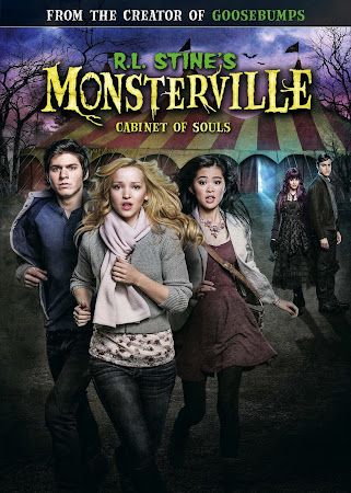 Poster Of Hollywood Film R.L. Stine's Monsterville The Cabinet of Souls 2015 In 300MB Compressed Size PC Movie Free Download
