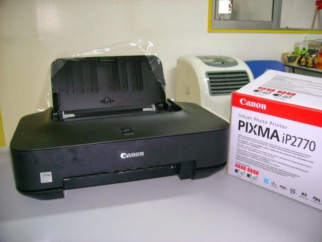 Memperbaiki Error 5B00 pada Printer Cannon IP 2770