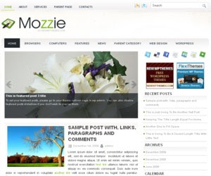 Mozzie WordPress Theme