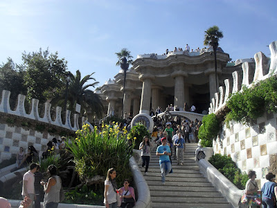 Park Guell, Barcelona, by Antoni Gaudi