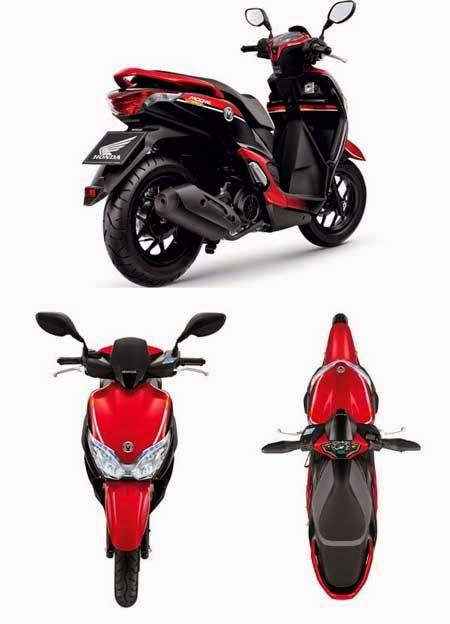 Honda Moove 2015