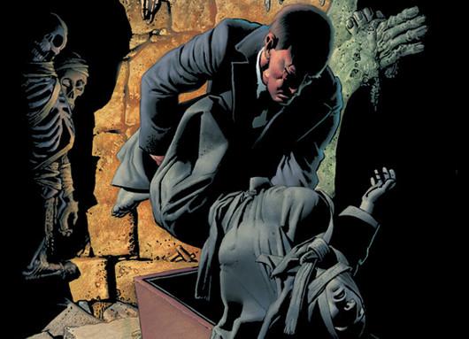 """Detalle cómic """"Los Espíritus de los Muertos"""", de Richard Corben"""