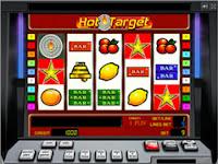 Jocul Hot Target ca la aparate