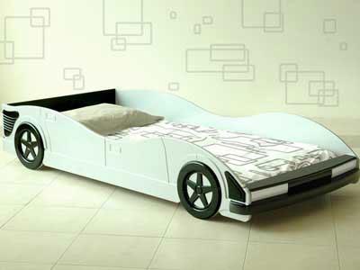 Dormitorios camas en forma de coches para ni os - Camas coche para ninos ...