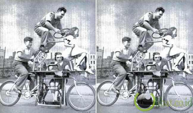 Sepeda Keluarga (Dilengkapi Mesin Jahit!) (1939)