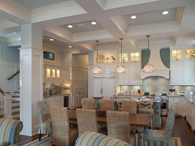 New Home Interior Design Southern Georgia Coastal Home