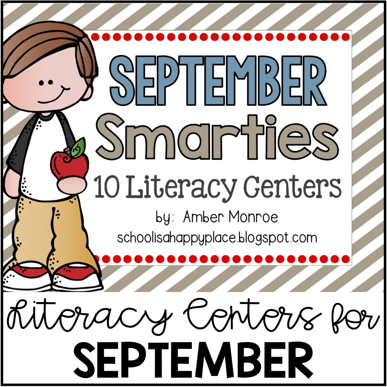 Literacy Centers for September