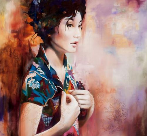 Wendy Ng | Chinese Abstract painter