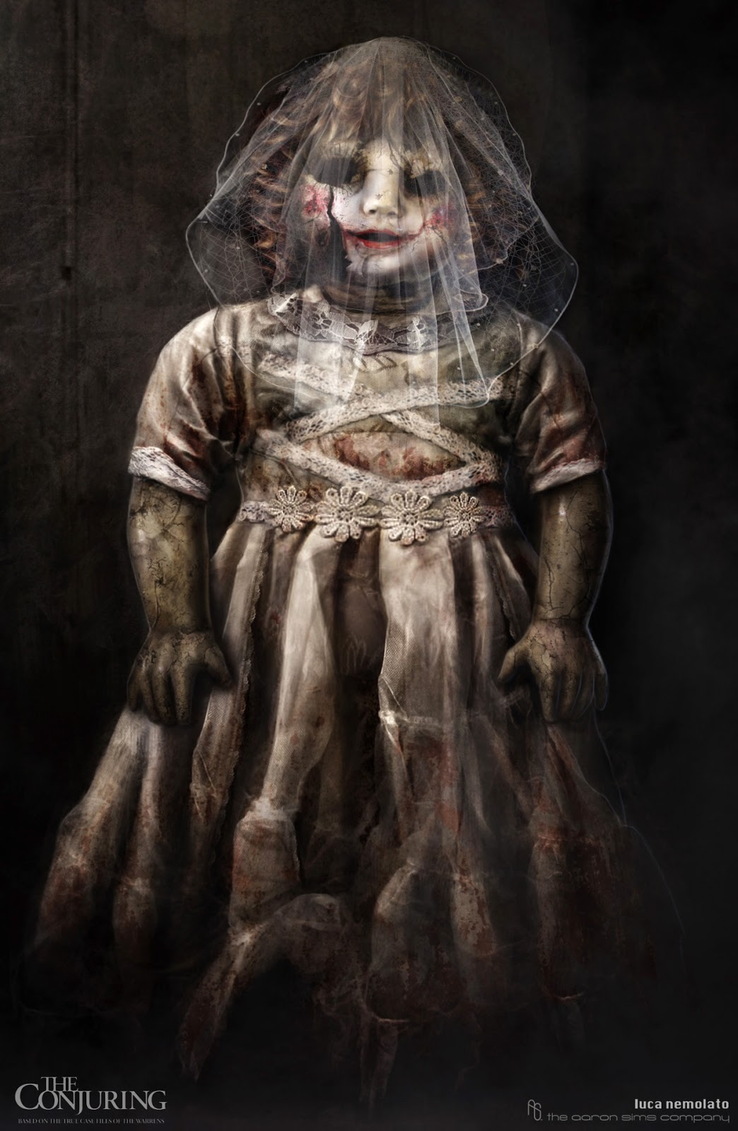 The Conjuring Alternate Designs For Annabelle The Doll