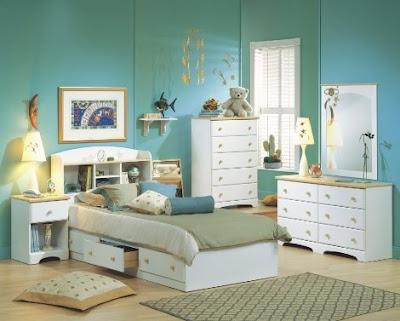 Muebles de dormitorio para ni os de color blanco for Muebles forlady
