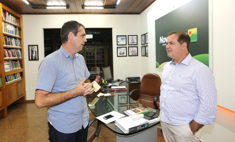 ESTADO: Tião Viana sai em defesa de Marcus após denuncia do MPF/AC