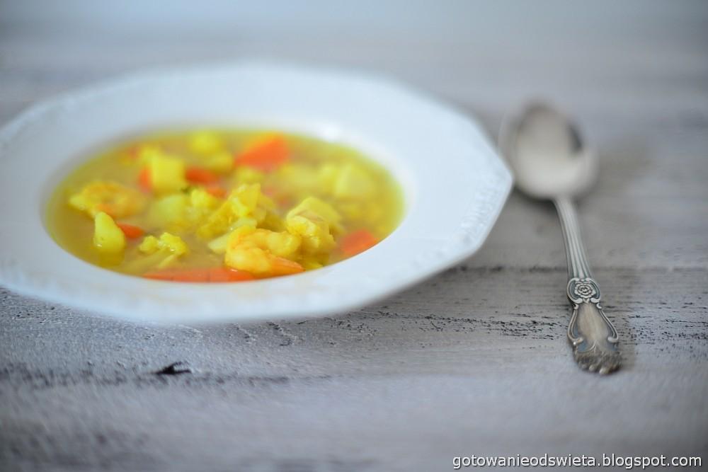 zupa rybna z warzywami