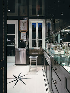 modern black cabinets for kitchen
