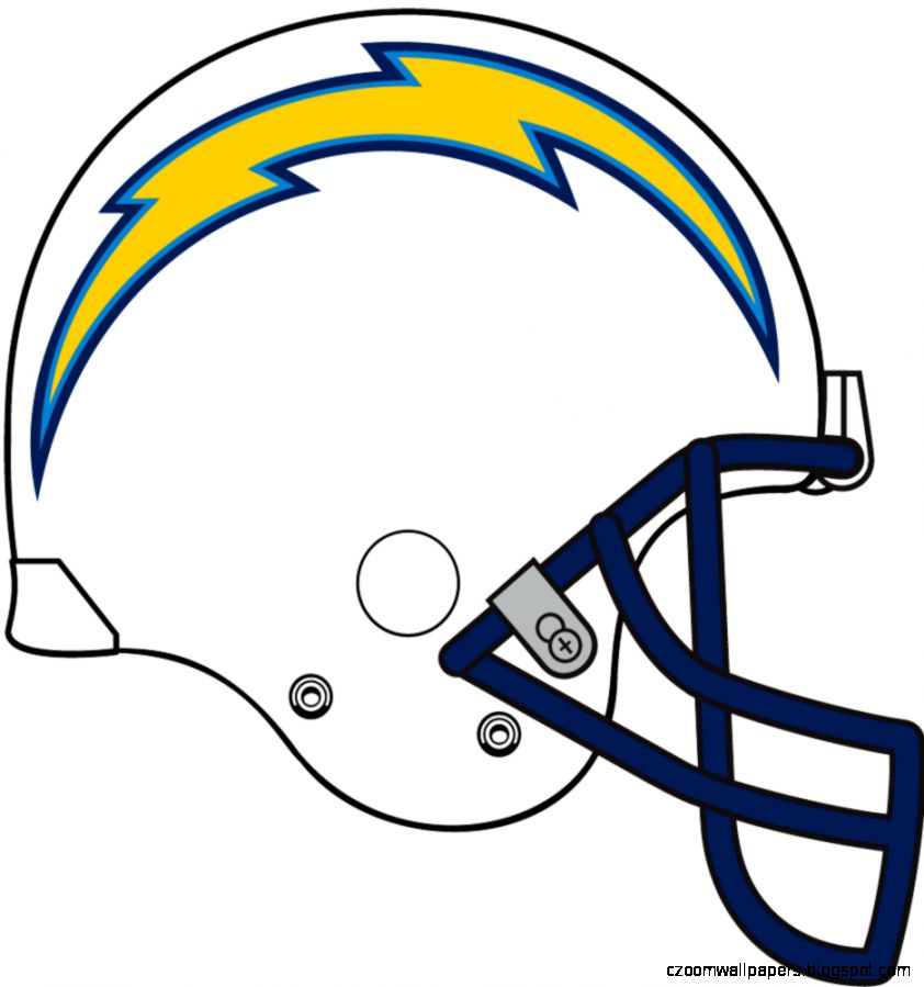 San Diego Chargers Helmet Logo   National Football League NFL