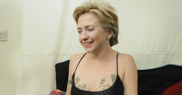 clitoris hillary clinton