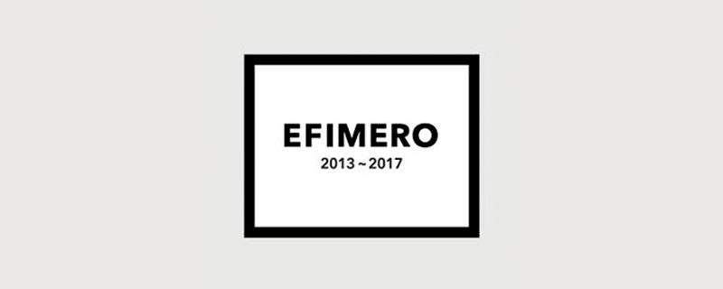 Efímero, colección de arte en camisetas