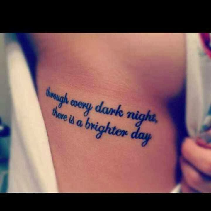 Girly Tattoo Sayings Tattoo quotes for rib cage of Anchor Tattoos With Sayings